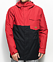 DC Merchant Chili Pepper Black 10K Snowboard Jacket