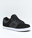 DC Pure SE Black & Dark Grey Skate Shoes