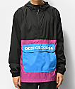 DC Sedgefield 2 Black & Purple Anorak Jacket