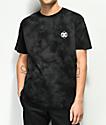 DC Single Star camiseta negra con efecto tie dye