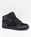 DC Spartan Hi WC All Black Skate Shoes