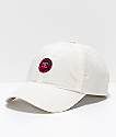 DC Star Poppy Off-White Strapback Hat
