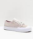 DC T-Funk Lo S White Skate Shoes