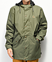 DC Union Beetle Green 10K Snowboard Jacket