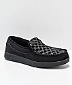 DC Villain Print Slip-On zapatos negros