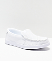DC Villain White Slip-On Shoes