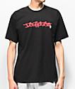 DC Waxed Black & Red T-Shirt