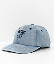 DGK Acid Wash Denim Strapback Hat