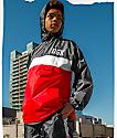 DGK Blocked Red & Black Windbreaker Jacket