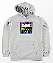 DGK Boys Fade Heather Grey Hoodie