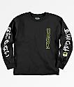 DGK Boys Kanji Black Long Sleeve T-Shirt