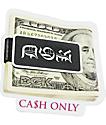 DGK Cash Only Sticker