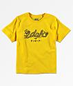 DGK Dragon camiseta amarilla para niños