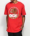 DGK Familia camiseta roja