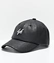 DGK First Class Black Strapback Hat