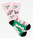 DGK Gang Pink Crew Socks
