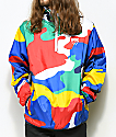 DGK General Multi Camo Anorak Windbreaker Jacket