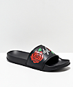 DGK Growth Black Slide Sandals