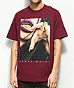 DGK Heavy Metal camiseta en color borgoño