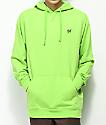 DGK Loud Lime sudadera verde con capucha