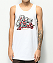 DGK Love Of Money camiseta blanca sin mangas