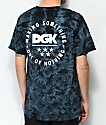 DGK Making Something Black Tie Dye T-Shirt