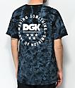 DGK Making Something Black Tie Dye T-Shirt