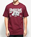 DGK Team Hustle Burgundy T-Shirt