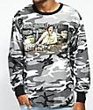 DGK The Boss Grey Camo Long Sleeve T-Shirt