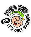DGK X Popeye pegatina Don't Trip