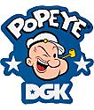 DGK X Popeye pegatina Strong