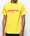 DOPE Global Yellow T-Shirt
