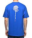 DROPOUT CLUB INTL. Rose Bone Thrower Blue T-Shirt