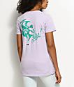 DROPOUT CLUB INTL. Violent Delights Lavender T-Shirt