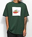 DROPOUT CLUB INTL. Weirdo camiseta verde oscuro