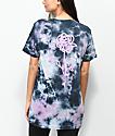 DROPOUT CLUB INTL. X  Heavy Slime Rose Tie Dye T-Shirt