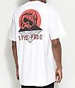 DROPOUT CLUB INTL. X Death Cloak Paradise White T-Shirt