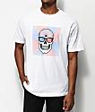 DROPOUT CLUB INTL. x Bonethrower Tune In camiseta blanca