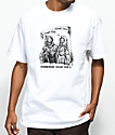 DROPOUT CLUB INTL. x Boss Dog Laugh White T-Shirt