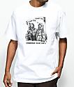 DROPOUT CLUB INTL. x Boss Dog Laugh White T-Shirt