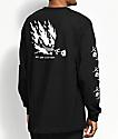 DROPOUT CLUB INTL. x Heavy Slime My God Black Long Sleeve T-Shirt