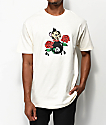 DROPOUT CLUB INTL. x Skip Class Mi Amore Cream T-Shirt