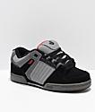 DVS Celsius Black, Grey & Red Skate Shoes