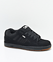 DVS Enduro 125 Black & Gum Skate Shoes