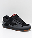 DVS Enduro 125 Grey & Black Nubuck Skate Shoes