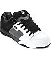 DVS Enduro Heir zapatos de skate en blanco, plomo y negro