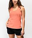 Dakine Fiona camiseta papaya sin mangas