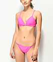Damsel Bobby Pink Super Cheeky Bikini Bottom
