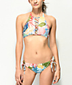 Damsel Fawn Tropical Cheeky Bikini Bottom