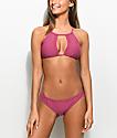 Damsel Mesh Side 2.0 Taro Super Cheeky Bikini Bottom
